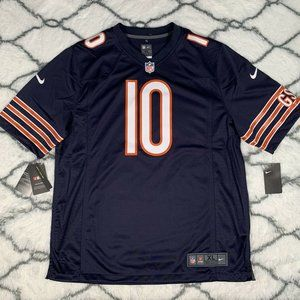 NIKE Trubisky Chicago Bears NFL On Field Jersey